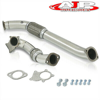 $ CDN200.91 • Buy Stainless Steel Turbo Downpipe Exhaust For 2002-2006 RSX/ 2006-2011 Civic Si K20