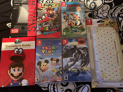 $61 • Buy Nintendo Switch Games Lot Mario Odyssey-asterix-bayonets And Tsumtsum