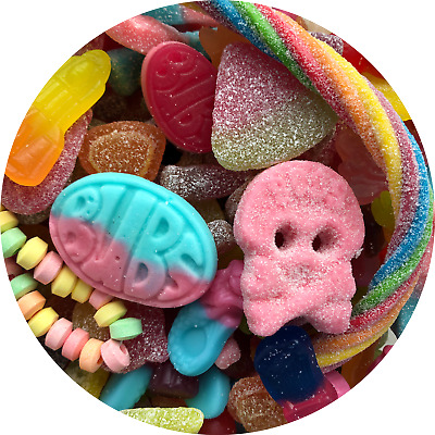 £5.99 • Buy Pick & Mix Vegan Sweets Vegetarian Retro Assortment Candy Jelly Pouch Gift Bag