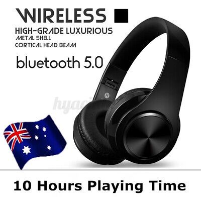 AU27.99 • Buy TWS Wireless Bluetooth 5.0 Headphones Noise Cancelling Headset Over Ear With Mic