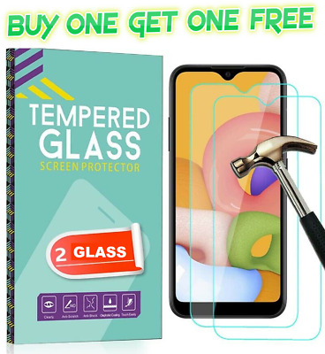 FOR Huawei P20 P30 P40 Pro Lite Protection Tempered Glass Screen Protector NEW • 1.73£