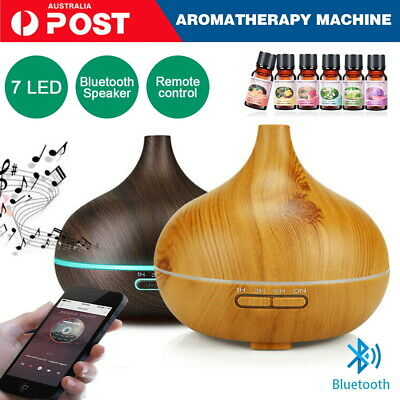 AU26.90 • Buy  Air Aromatherapy Humidifier Essential Oil Aroma Diffuser +Bluetooth Speaker
