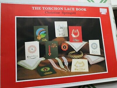 THE TORCHON LACE BOOK By CHRISTINE SPRINGETT - Lacemaking Manual / Patterns • 17.50£