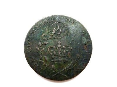 Token--success To The Plough & Fleece--the Commerce Of Britain • 7£