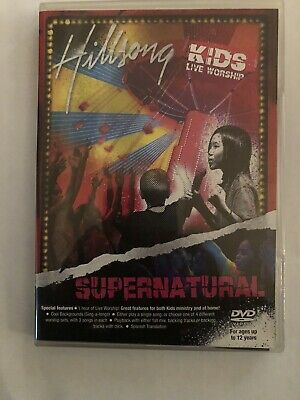 $5 • Buy Hillsong: KIDS LIVE WORSHIP ~ SUPERNATURAL ~ DVD ~ 12 SONGS