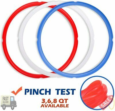$22.77 • Buy Silicone Sealing Rings For Instant Pot Accessories, Fits 5 Or 6 Quart Models, R
