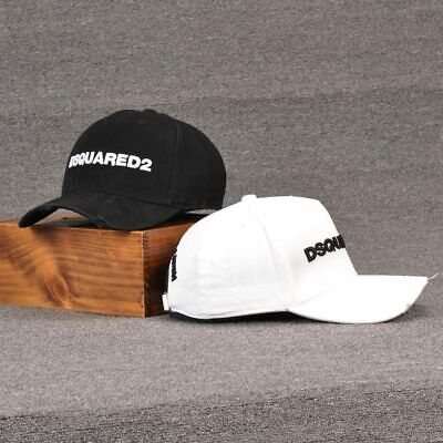 Dsquared2 Baseball Cap Men's Women's SnapBack Icon Hat New Outdoor Sports Simple • 10.99£