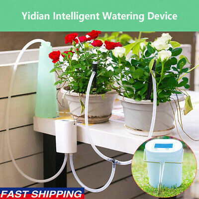 Automatic Drip Irrigation System Plant Controller Self Watering Kits For Garden~ • 14.99£