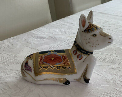 Royal Crown Derby Donkey Foal With Silver Stopper • 8.99£