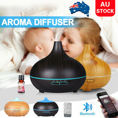 AU26.90 • Buy  Air Aromatherapy Humidifier Essential Oil Aroma Diffuser W/ Bluetooth Speaker
