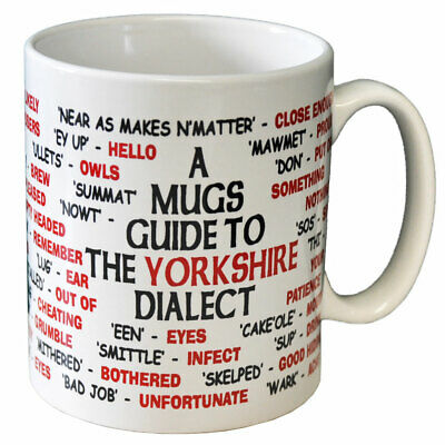 Yorkshire Dialect Translator Ceramic Coffee Mug - Can Be Personalised • 9.99£