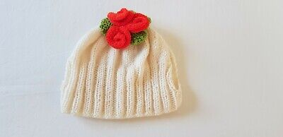 £10 • Buy Crocheted Rose Tea Cosy Hand Knitted - Fits A Large Tea Pot