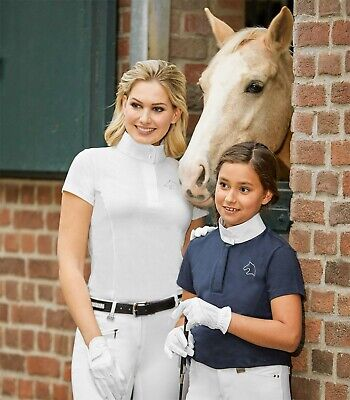 £17.99 • Buy New 'Laura'  KIDS Technical Competition Show Shirt Show Jumping Dressage