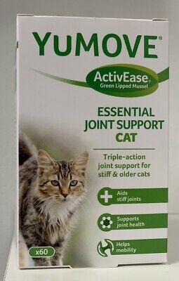Lintbells | YuMOVE Cat | Hip And Joint Supplement For Stiff Cats,  30/60 Tabs • 10.87£