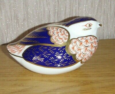 Royal Crown Derby Quail  Paperweight • 15£