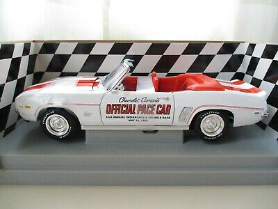 $52.95 • Buy Ertl - American Muscle 1969 Chevy / Chevrolet Camaro Ss Indy 500 Pace Car - 1/18