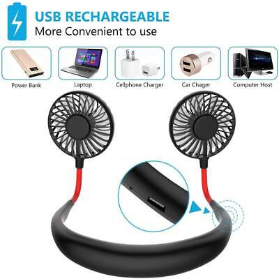 AU16.99 • Buy Sports Fan Travel Hanging USB Charging Creative Lazy Tool Neck Portable Gifts