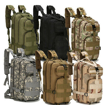 $16.14 • Buy Military Molle Camping Backpack Camping Hiking Travel Tactical Bag 28L Outdoor