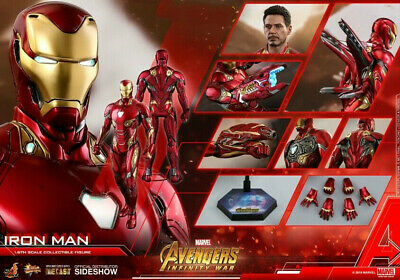 $ CDN771.70 • Buy Ready! Hot Toys MMS473D23 Avengers Infinity War 1/6 Iron Man Mark L 50 Diecast