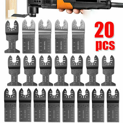 AU32.95 • Buy 60PCS 44mm Oscillating Saw Blades Multi Tool For Fein Makita Bosch Wood Metal AU