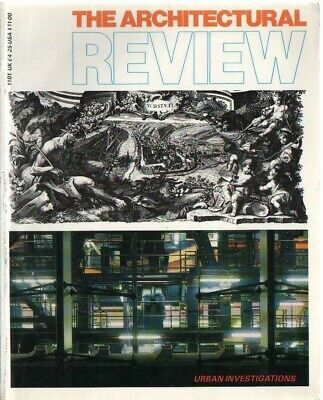 £4.50 • Buy The Architectural Review 1101 November 1988 Magazine Grimshaw