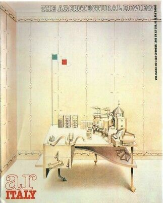 £4.50 • Buy The Architectural Review 1028 October 1982 Magazine Rossi Canella