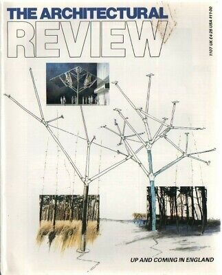 £4.50 • Buy The Architectural Review 1107 May 1989 Magazine Foster Paternoster Square
