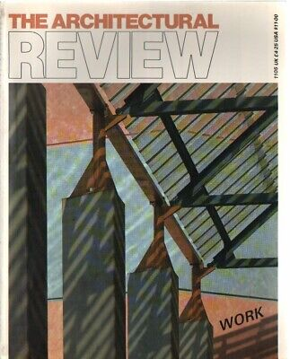 £4.50 • Buy The Architectural Review 1105 March 1989 Magazine Stirling