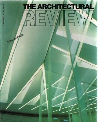 £4 • Buy The Architectural Review 1083 May 1987 Magazine Hertzberger Foster Ambasz