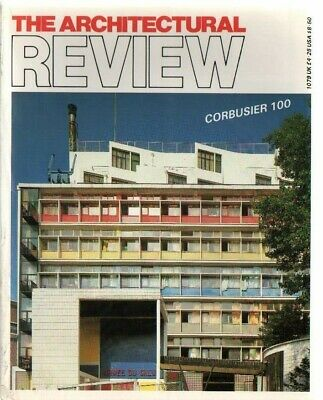 £5 • Buy The Architectural Review 1079 January 1987 Magazine Le Corbusier
