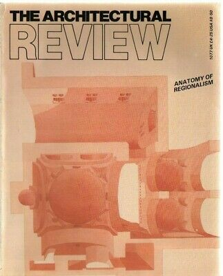 £4 • Buy The Architectural Review 1077 November 1986 Magazine