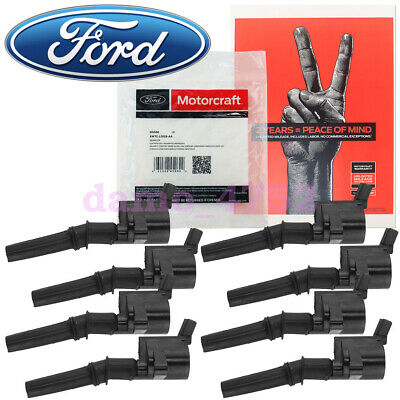 $170.95 • Buy Set Of 8 Motorcraft Ignition Coil DG-508 For Ford Lincoln Mercury 4.6L 5.4L 6.8L