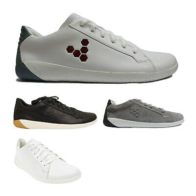Vivobarefoot Geo Court Leather Casual Lace-Up Low-Top Sneakers Mens Trainers • 114.68£