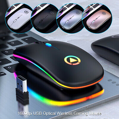 AU15.50 • Buy Wireless Optical Mouse Mice & USB Receiver 2.4GHz For PC Laptop Computer DPI