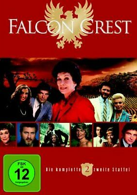 Dvd Falcon Crest Season 2 ( 6 Disc) Lorenzo Lamas Jane Wyman R2 New Sealed • 19.99£