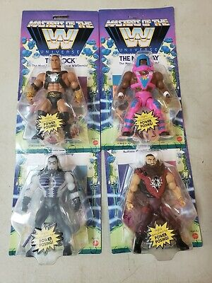 $130 • Buy Masters Of The WWE Universe The Rock Undertaker New Day Strowman Wave 3 Set