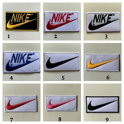 NIKE - Beautiful Sports Badges Logo -Embroidered Sew On Iron On Patch • 1.99£