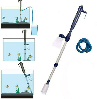 AU18.04 • Buy Electric Aquarium Fish Tank Cleaner Siphon Pump Water Change Gravel Vacuum Clean