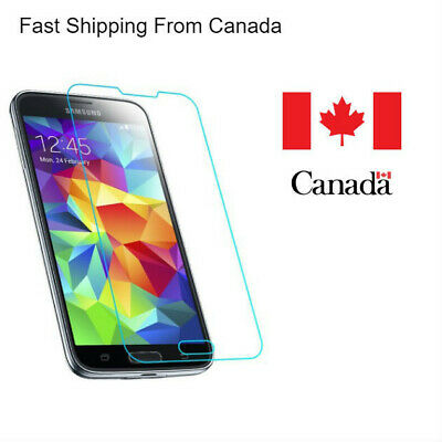 $ CDN5.49 • Buy New Tempered Glass Screen Protector For Samsung Galaxy S5-s6-s7-s8 Canada
