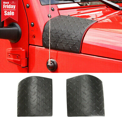 $0.99 • Buy Side Hood Body Armor Cowl Cover Trim For Jeep Wrangler JK 2007-2017 Accessories