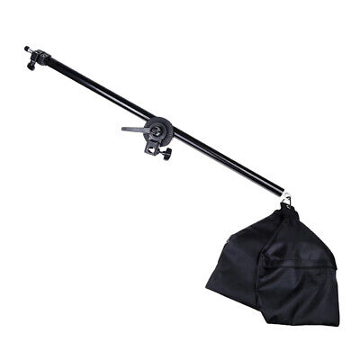 Studio Overhead Boom Arm Top Light Stand With 1/4  Mount For Softbox Lights • 25.71£