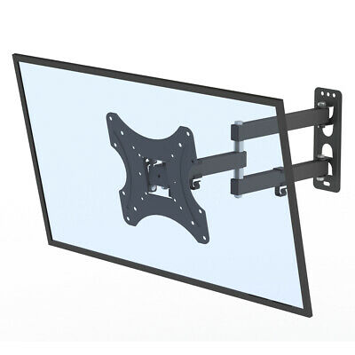 "Full Motion Cantilever TV Monitor Bracket - Wall Mounted Small Arm Stand 26 -55"" • 15.98£"