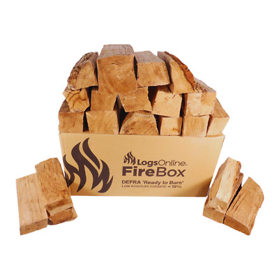 £13 • Buy Hardwood Kiln Dried Ash Firewood Logs For Fire Pit / Chunky Logs For Barbeque