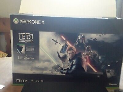 $400 • Buy Microsoft Xbox One X 1TB Star Wars Jedi: Fallen Order Bundle