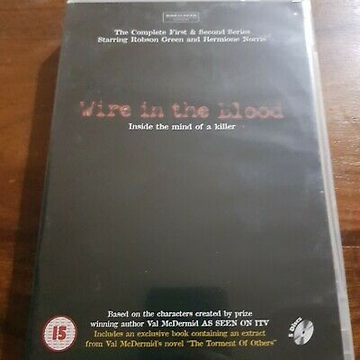 Wire In The Blood - Series 1 And 2 DVD • 2£