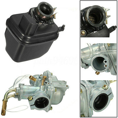 AU33.99 • Buy Carby Carb Carburetor & Air Filter Box For Yamaha PEEWEE PW50 PY50 Replace