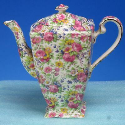 $ CDN300.67 • Buy Royal Winton - Summertime Chintz - Coffee Pot - 8 Inches