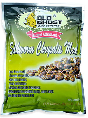 Old Ghost Silkworm Chrysalis Meal Ground Bait Attractant Match Carp Fishing. • 4.99£