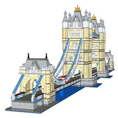 MOC-12269 Architecture Tower Of London Tower Bridge Extension Expert Blocks • 58£