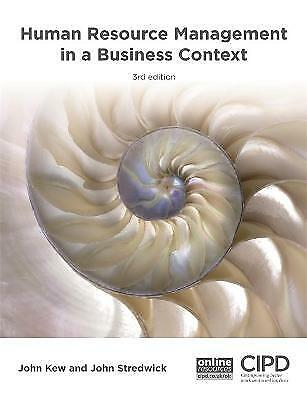 Human Resource Management In A Business Context - 9781843984047 • 35.24£